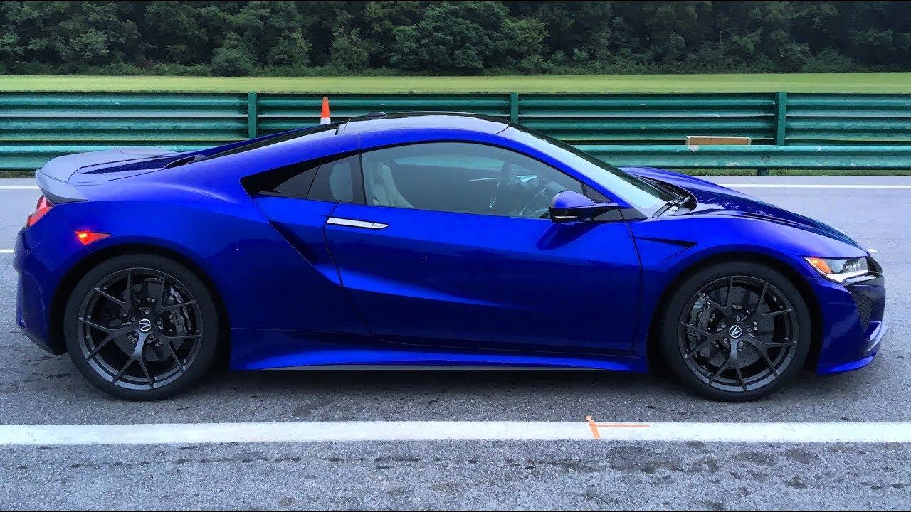 Свершилось: точные характеристики нового спорткара Acura NSX