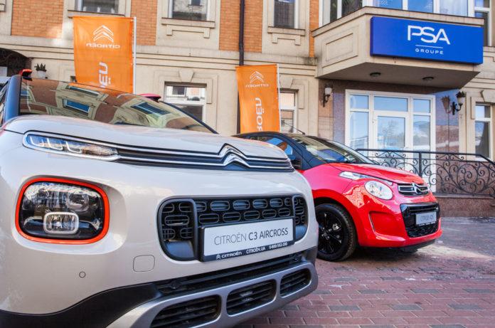 Спрос на автомобили Peugeot и Citroen в Украине достиг рекордной отметки
