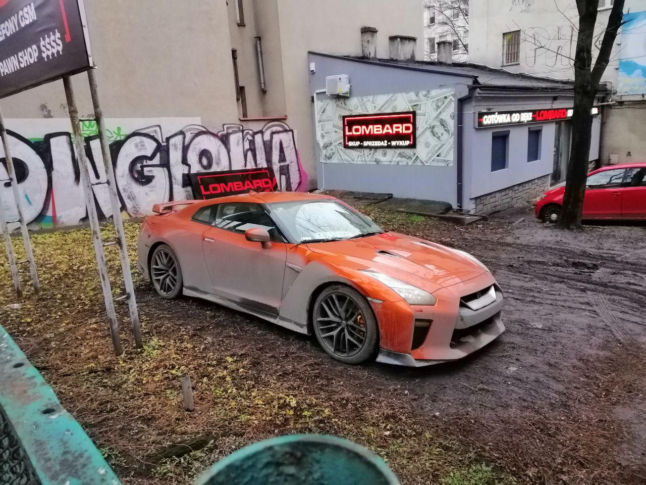 Новость одной картинкой: Nissan GT-R сдали в ломбард