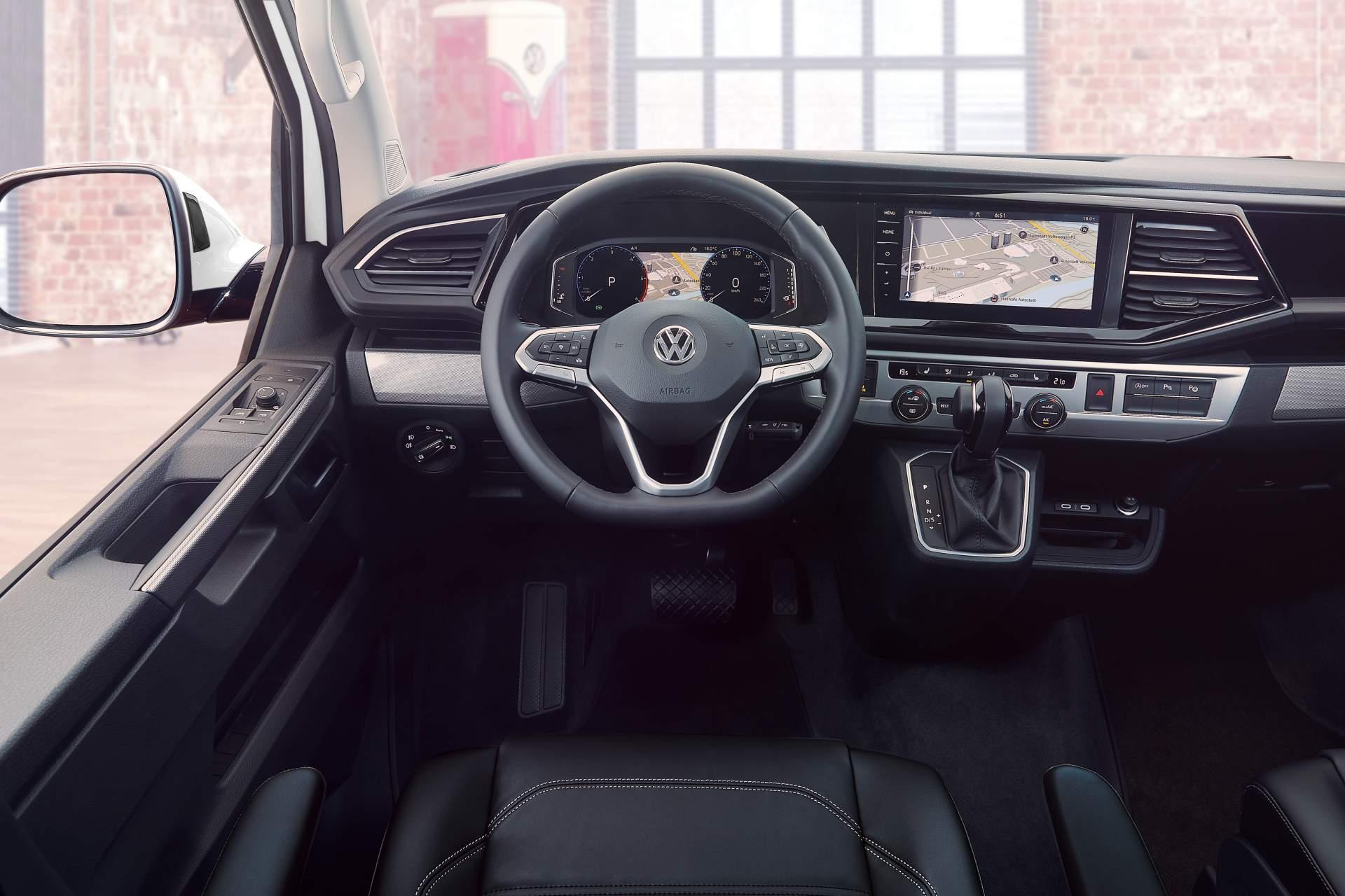Живые фото и первые подробности нового Volkswagen T6 2019