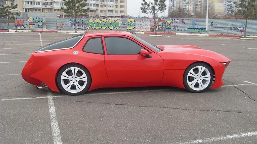 Украинец превратил старый Porsche в эффектный спорткар