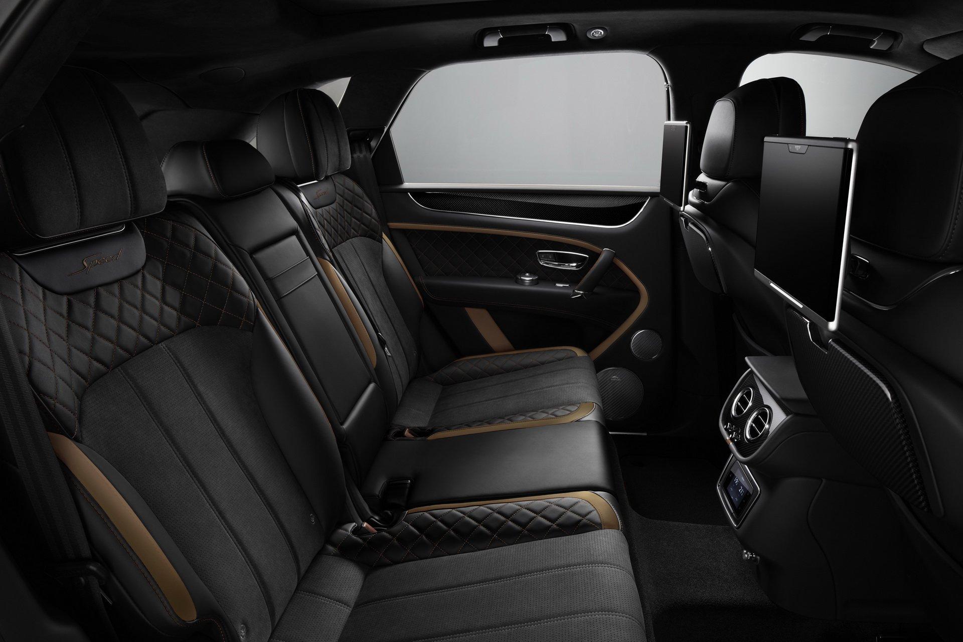 Самый быстрый Bentley Bentayga 2019 полностью рассекречен