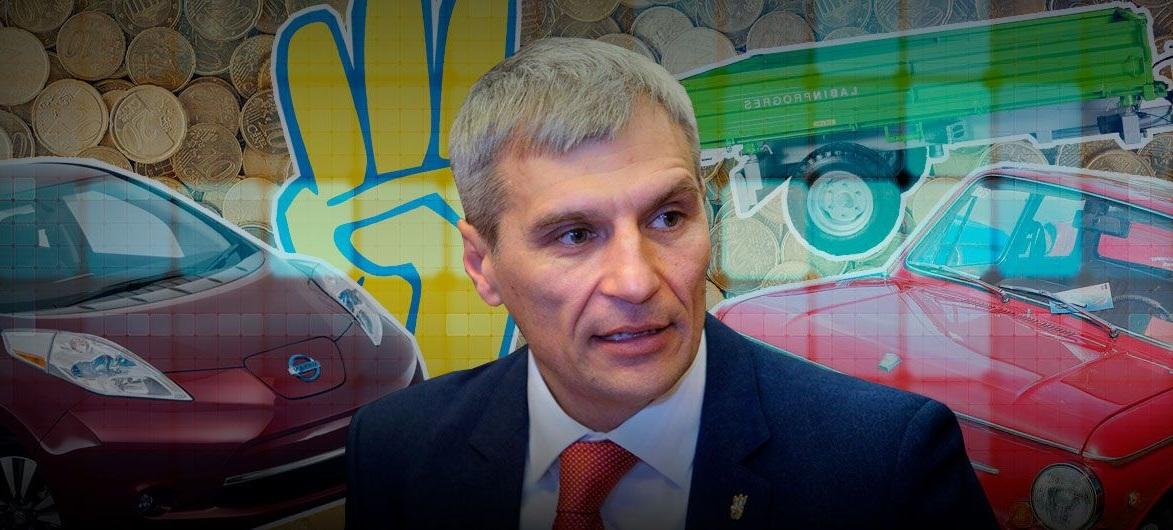 Кто из кандидатов в президенты Украины ездит на электромобилях