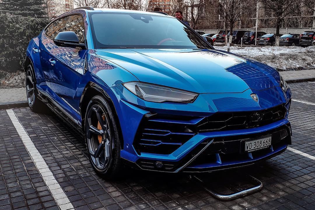 В Украине засветился новейший внедорожник Lamborghini Urus