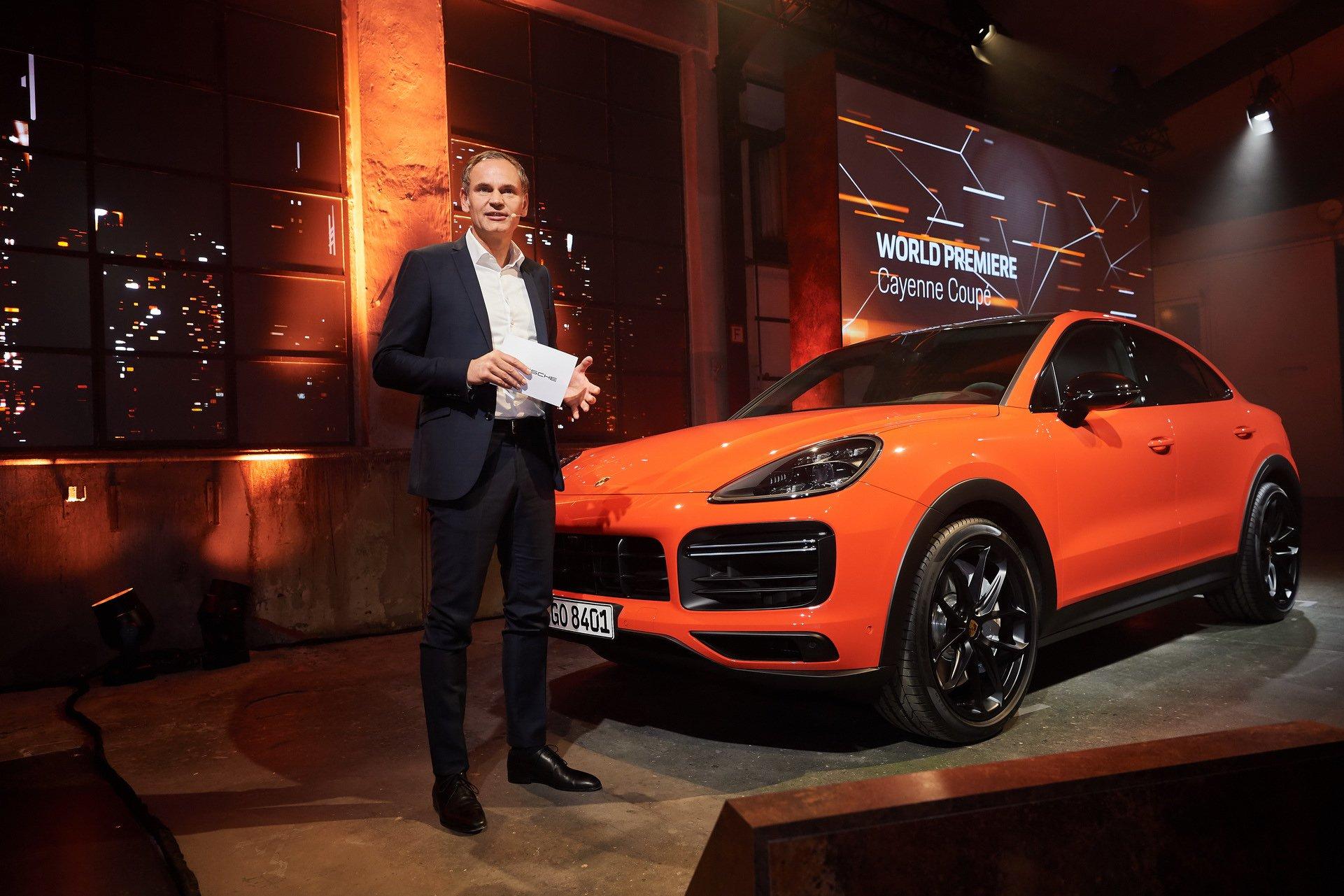 Живые фото и все подробности нового конкурента BMW X6 от Porsche