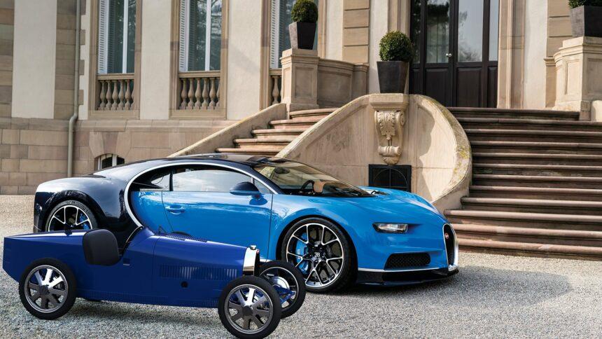 Новый электромобиль Bugatti будут продавать по цене Nissan Leaf