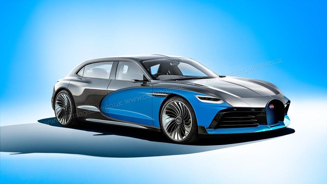 Bugatti готовит самый роскошный в мире электромобиль