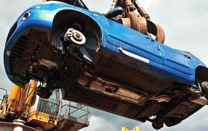 Как избавляются от старых авто в Германии
