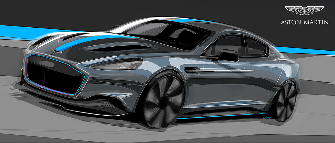 Первый электрокар Aston Martin станет новым авто Джеймса Бонда