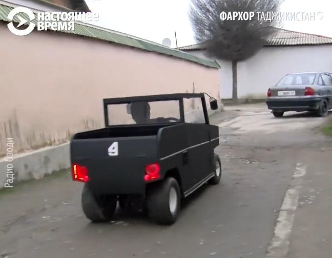 Первый таджицкий автомобиль удивил дизайном и экономичностью