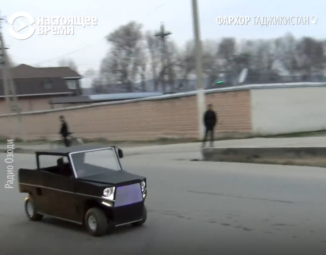 Первый таджицкий автомобиль оказался экономичнее Приуса