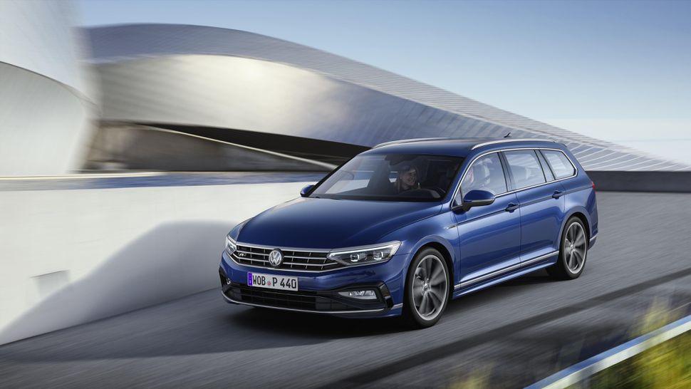 Первый видеообзор нового Volkswagen Passat 2020