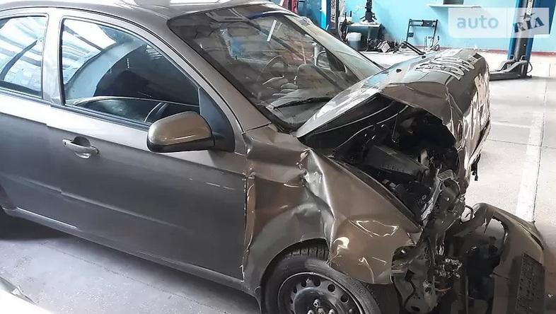 В Украине продают разбитый ЗАЗ после краш-теста