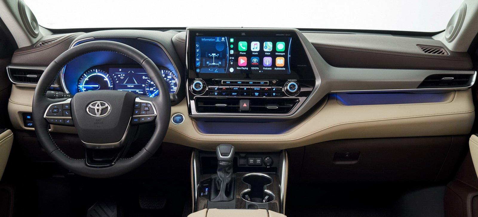 Официальные фото и обзор нового Toyota Highlander 2020