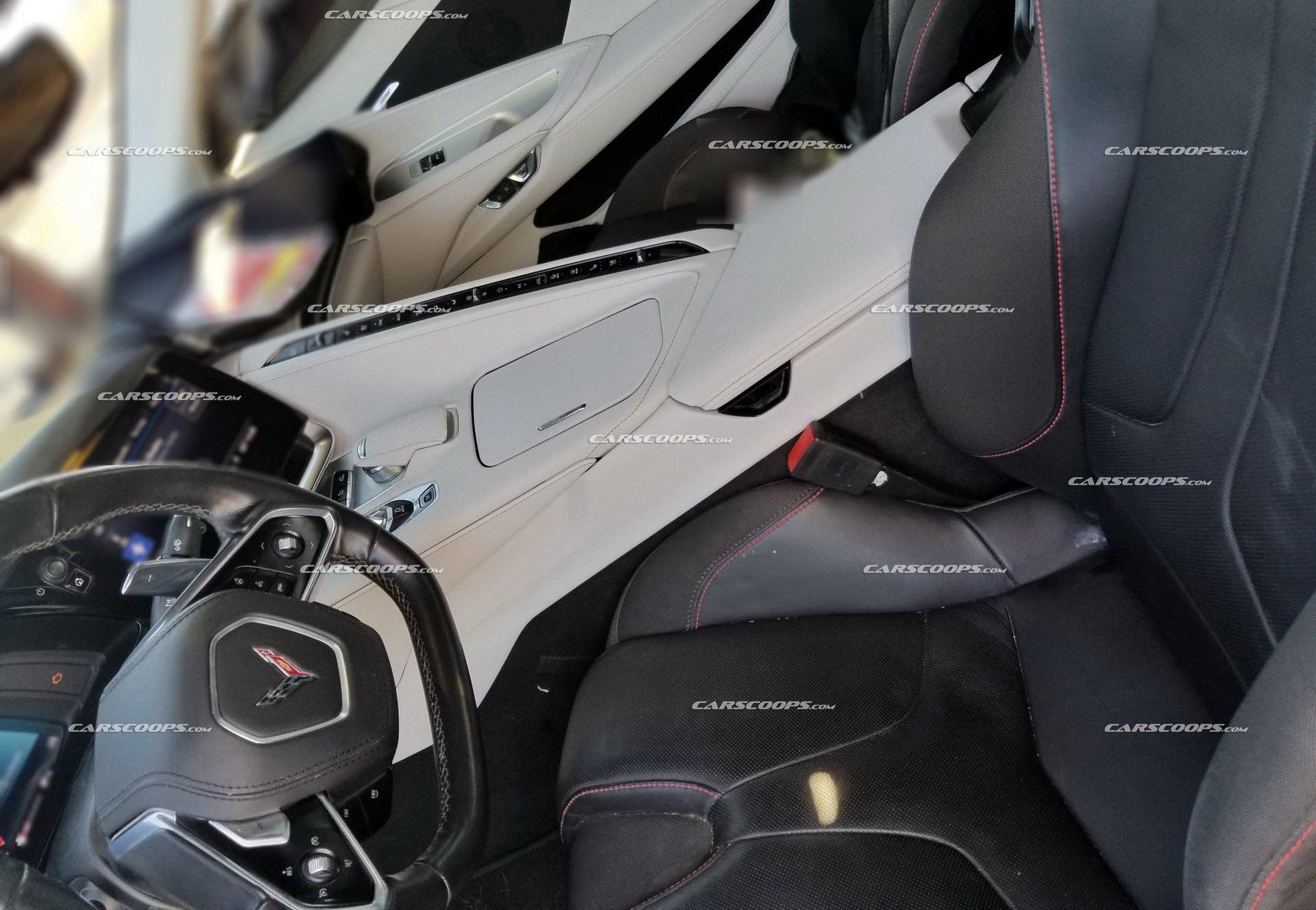 Революционный Chevrolet Corvette 2020 впервые засветился на фото