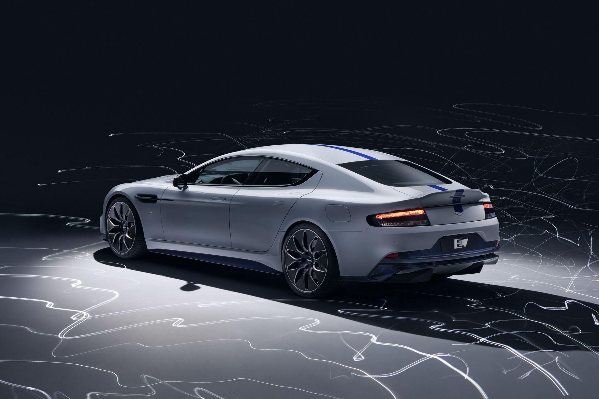 Официальные фото первого электрокара Aston Martin для агента 007