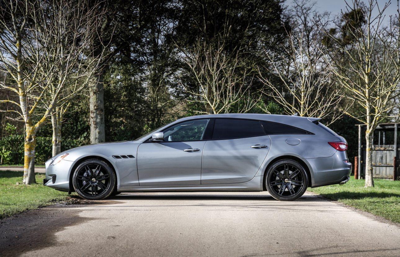 Народный умелец переделал Maserati в стильный спортивный универсал