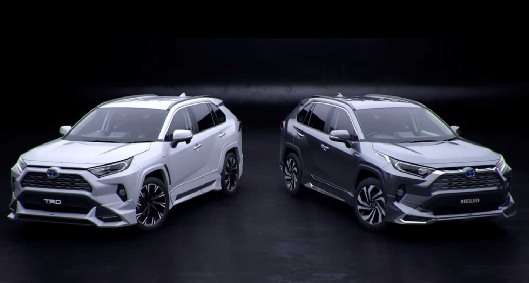Яркий тюнинг Toyota RAV4 2019 от TRD и Modellista