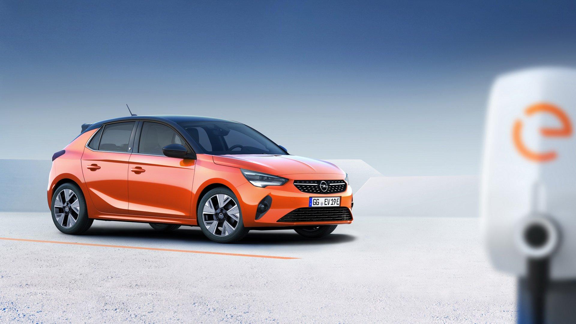 Новый Opel Corsa 2020 стал электромобилем