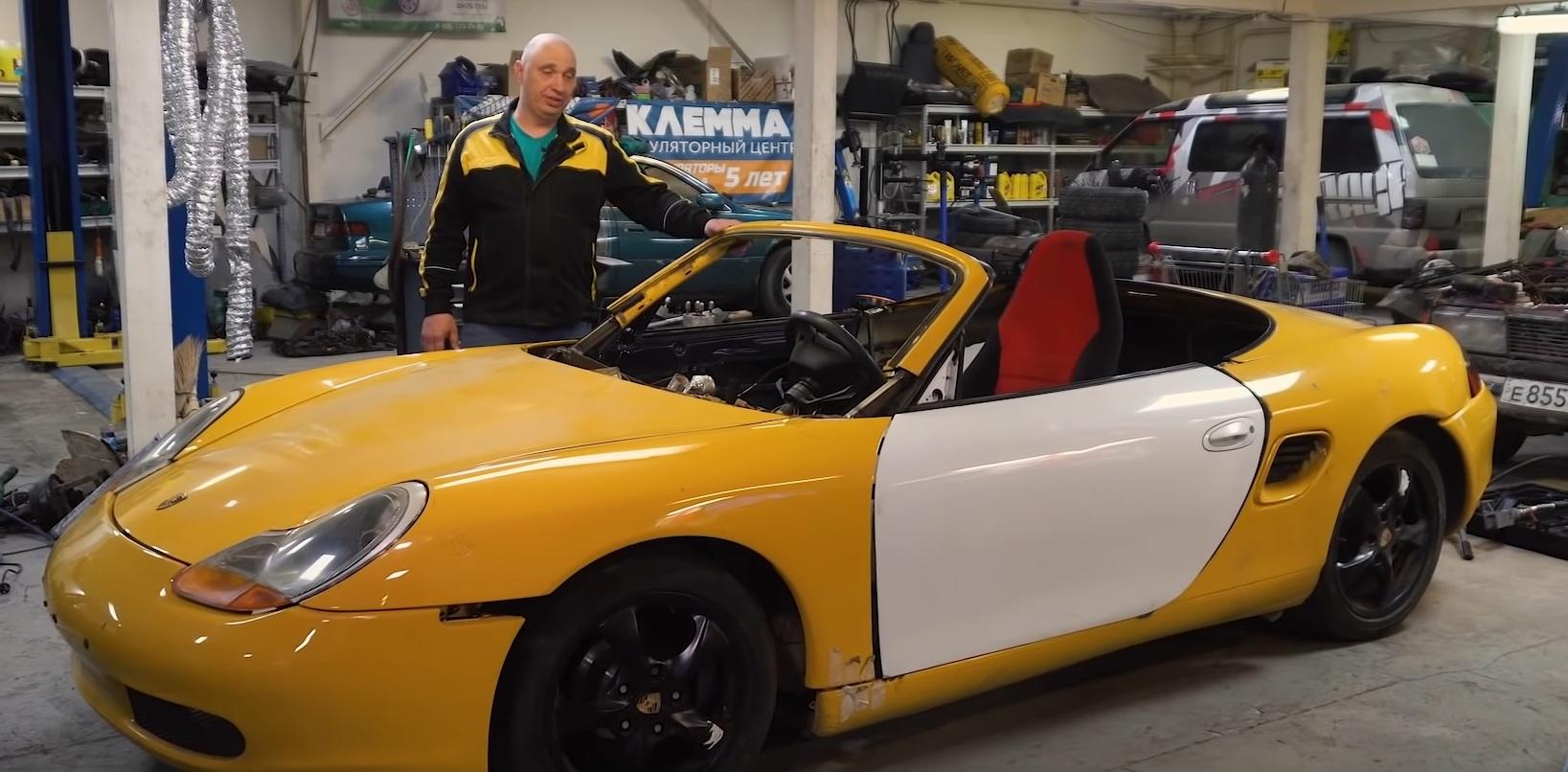 Народные умельцы превратили Жигули в Porsche Boxster (видео)