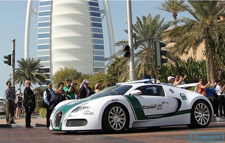 Назван самый быстрый в мире полицейский авто