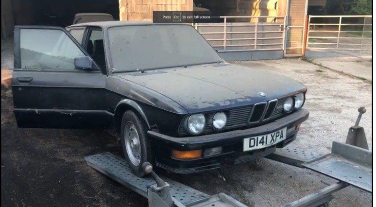 Коллекция редких BMW 80-х обнаружена на старом складе