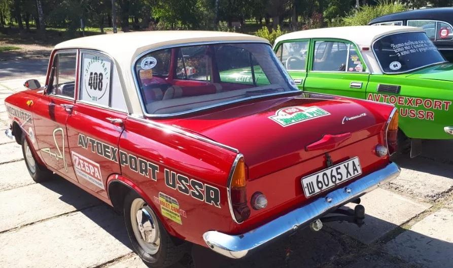 В Украине продают старый Москвич по цене новой Фабии