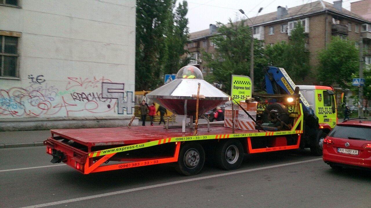 В Киеве засняли на фото НЛО