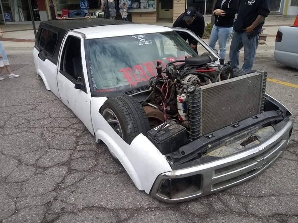 Так выглядит самый заниженный автомобиль в мире