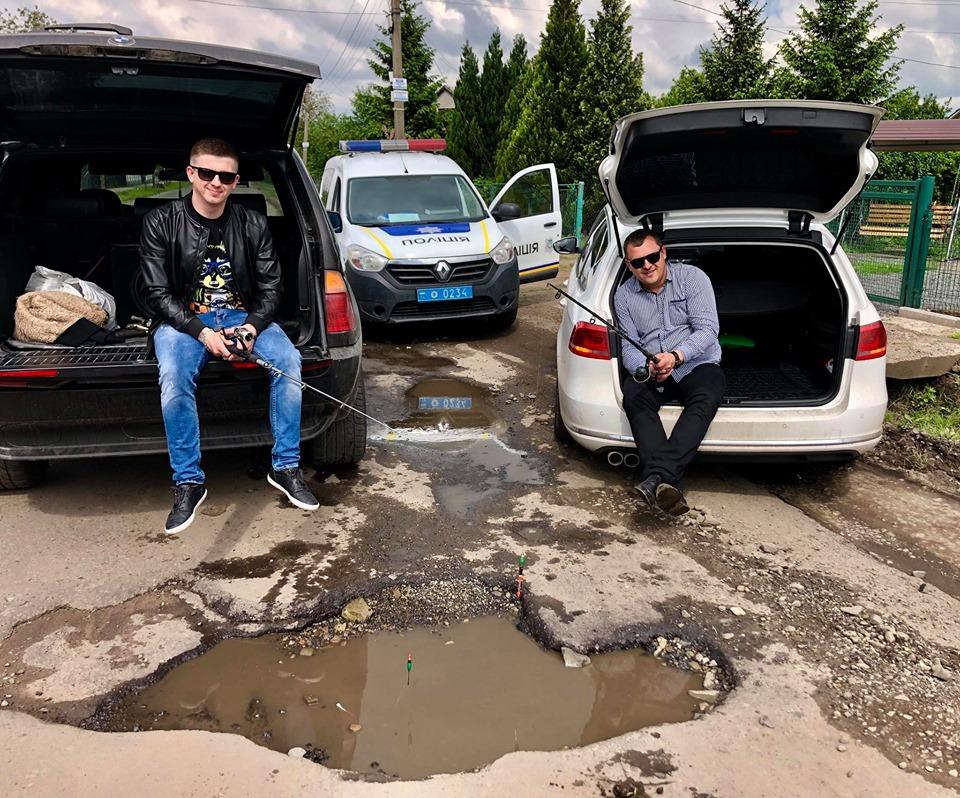Особенности национальной рыбалки на украинских дорогах