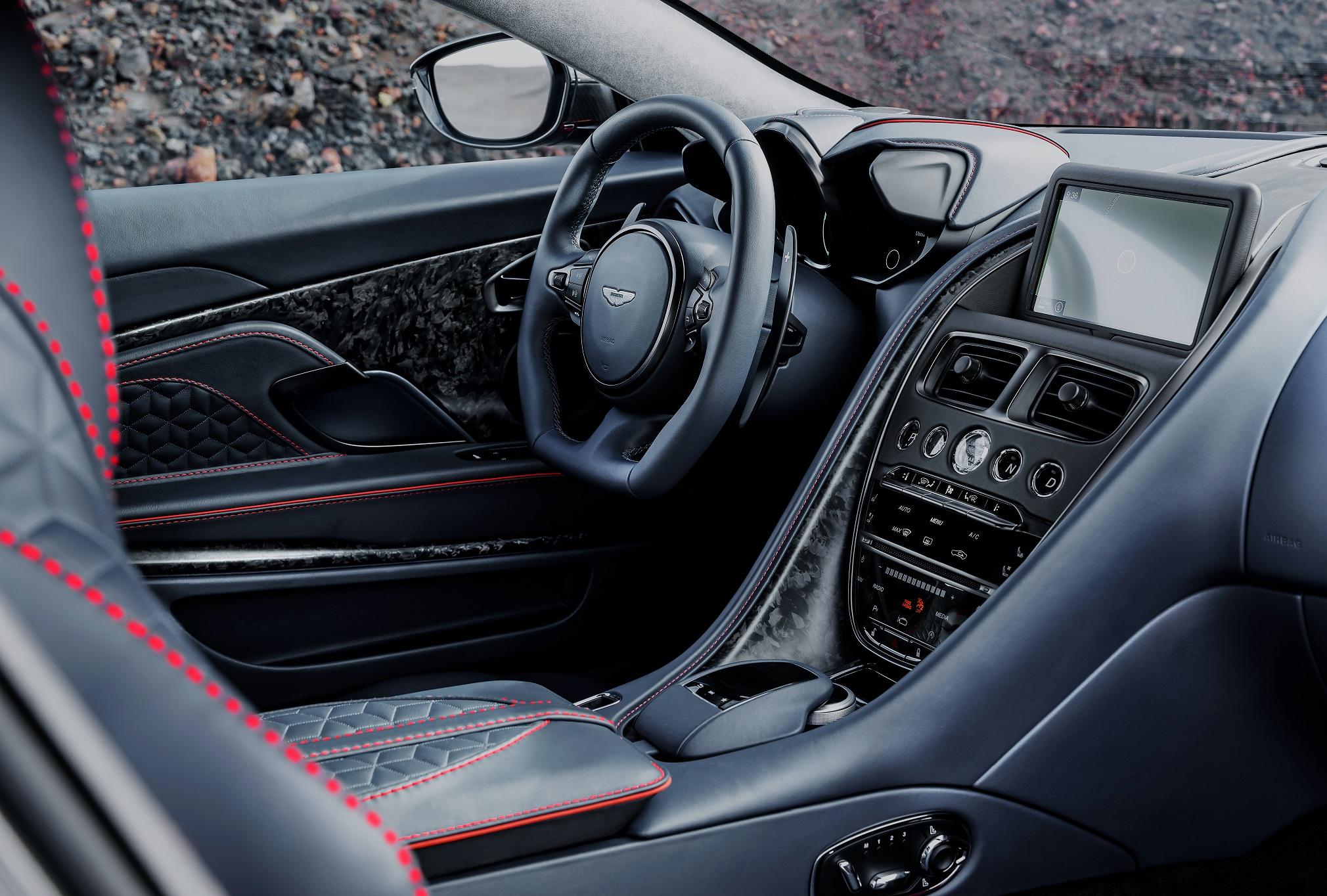 В Украине появился самый мощный суперкар Aston Martin за 9 миллионов