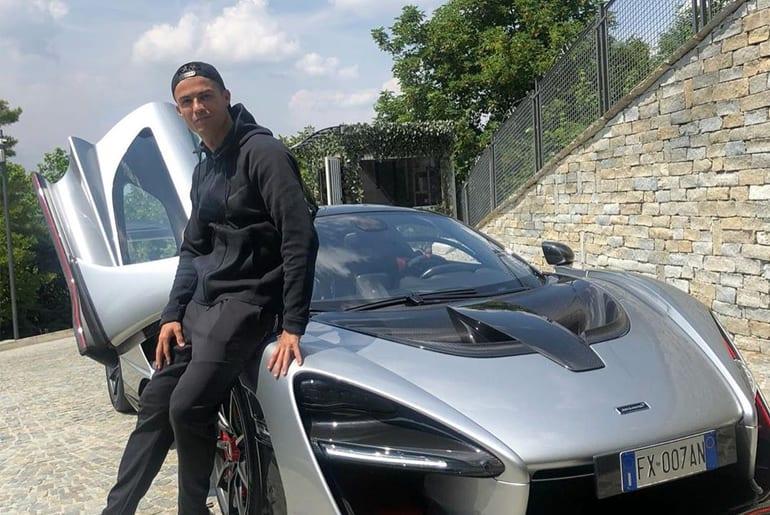 Криштиану Роналду купил самый дорогой суперкар McLaren