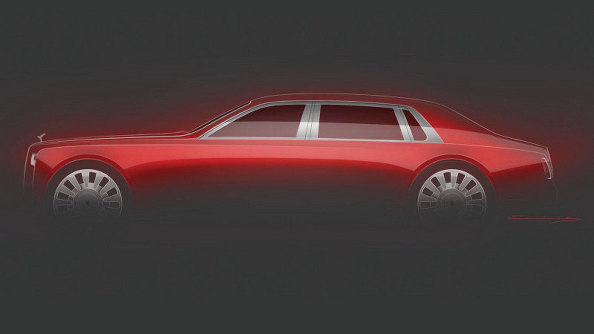 Первое изображение эксклюзивного Rolls-Royce за миллион долларов