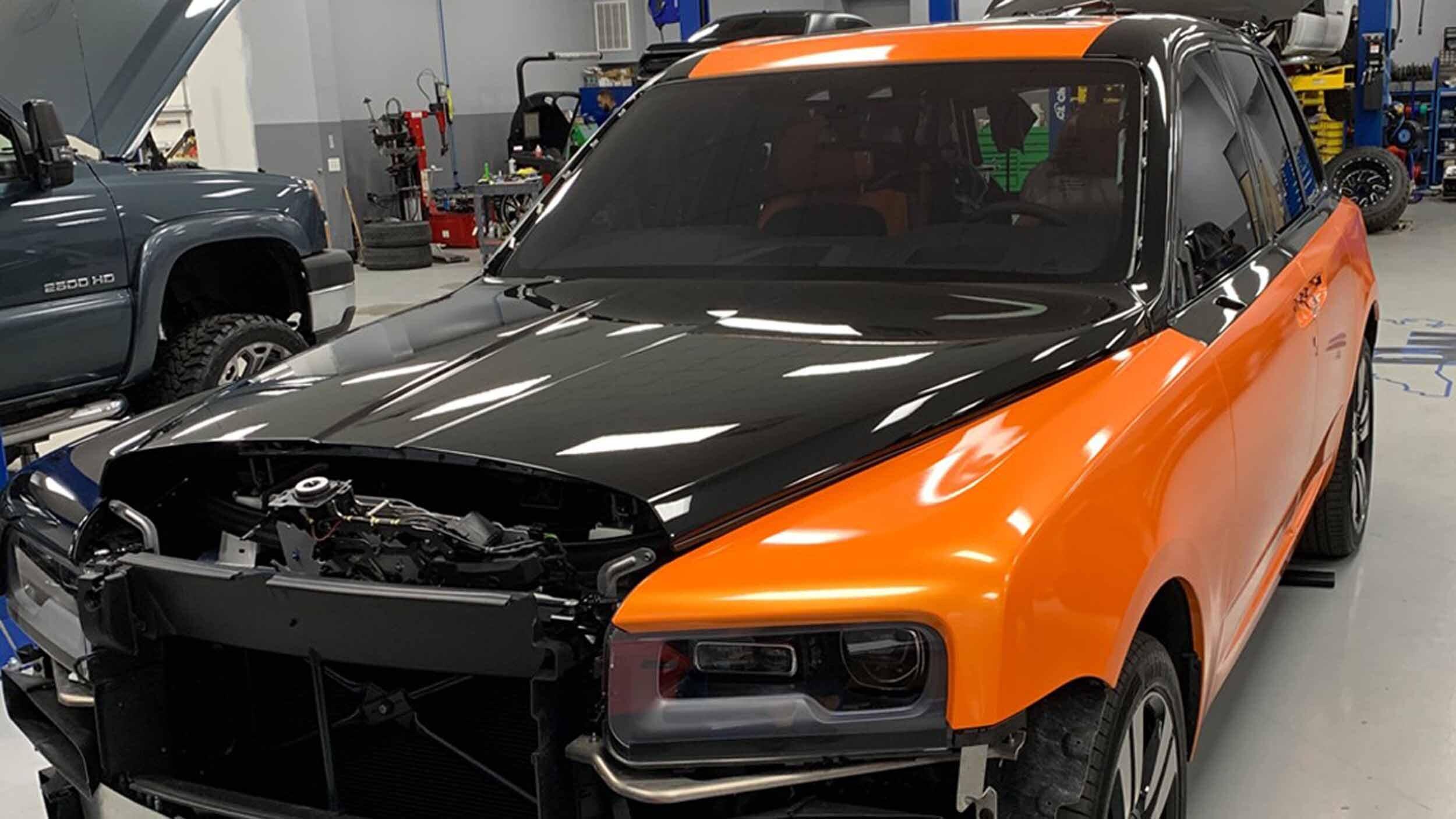 Самый безумный тюнинг Rolls-Royce Cullinan для Бекхэма