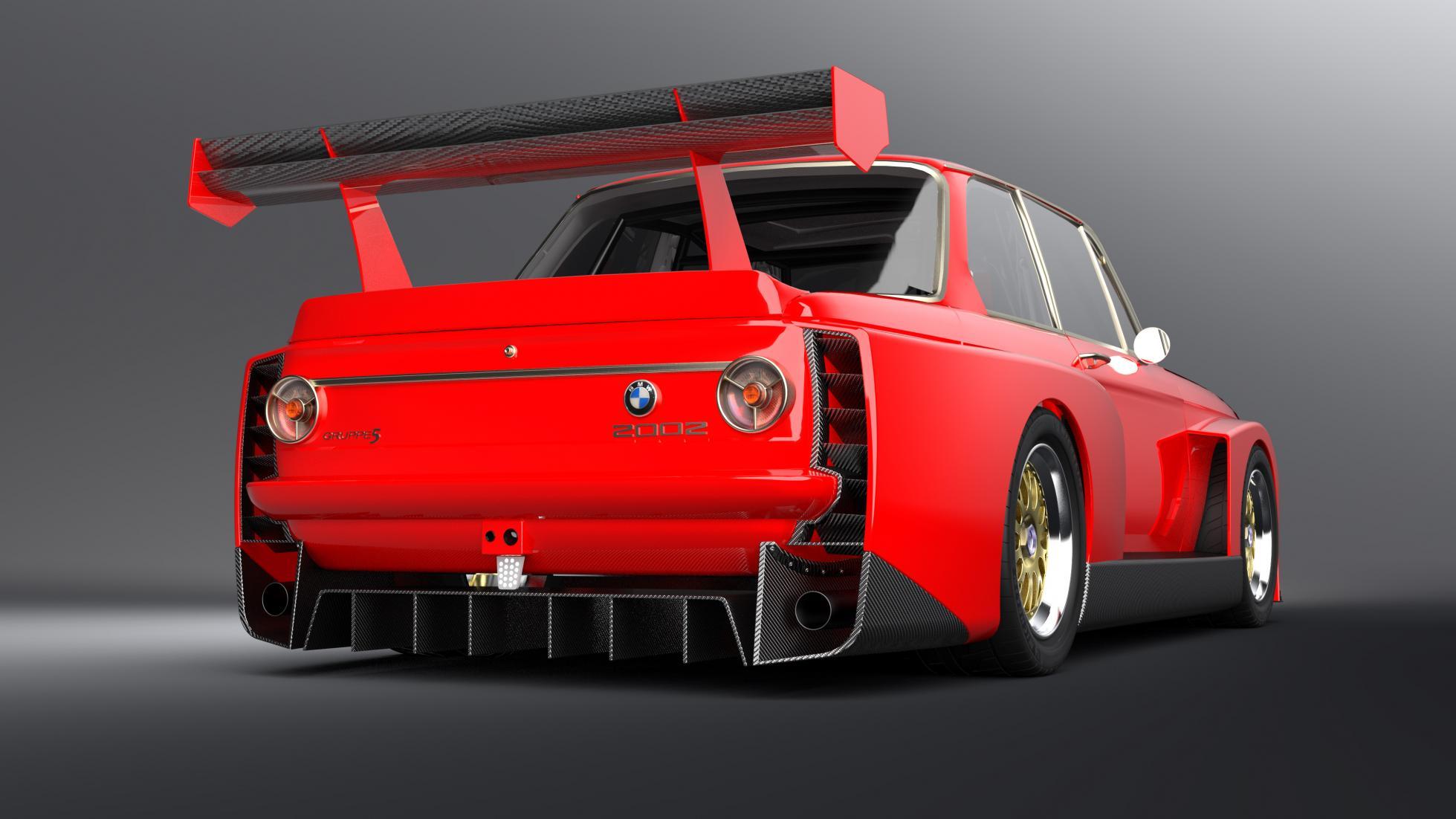 Старую 50-летнюю БМВ превратили в корч с характеристиками суперкара