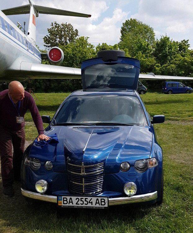 Украинец скрестил BMW 3 Series и старый Москвич