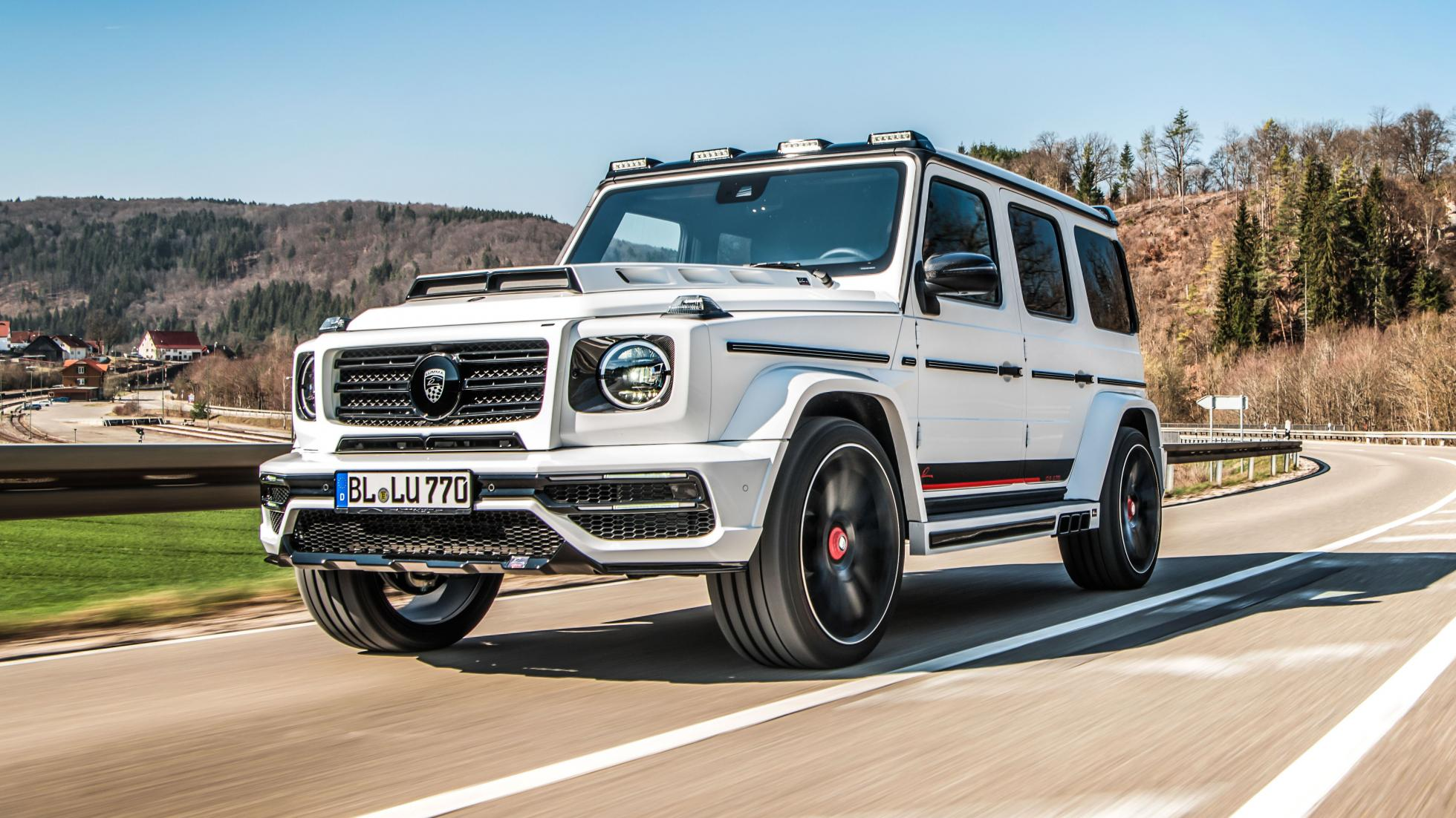 Самый яркий тюнинг Mercedes G-Class 2019