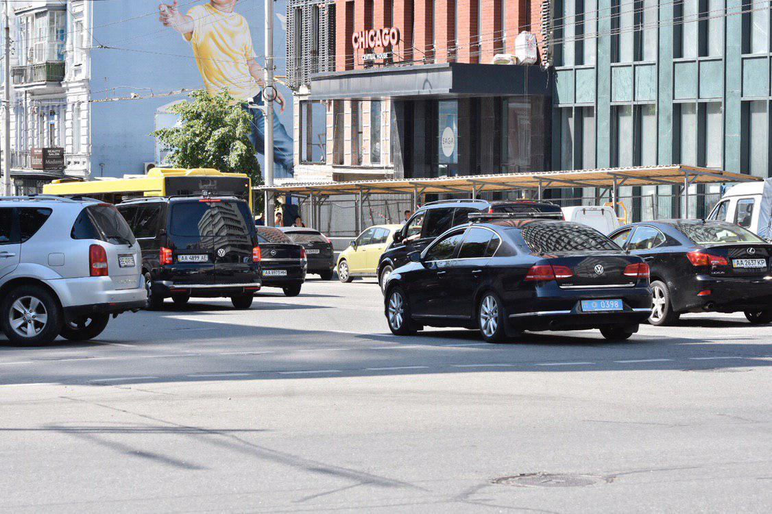 Кортеж Зеленского пополнился новыми авто