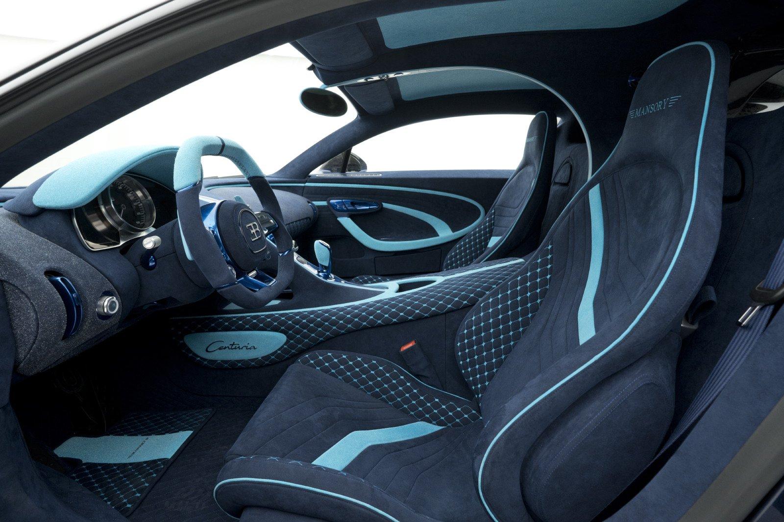 На продажу выставлен самый крутой гиперкар Bugatti Chiron от Mansory