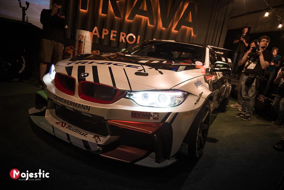 В Украине засветили сверхмощное купе BMW для дрифта