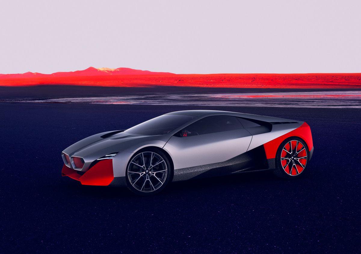 Первые фото нового гибридного суперкара BMW