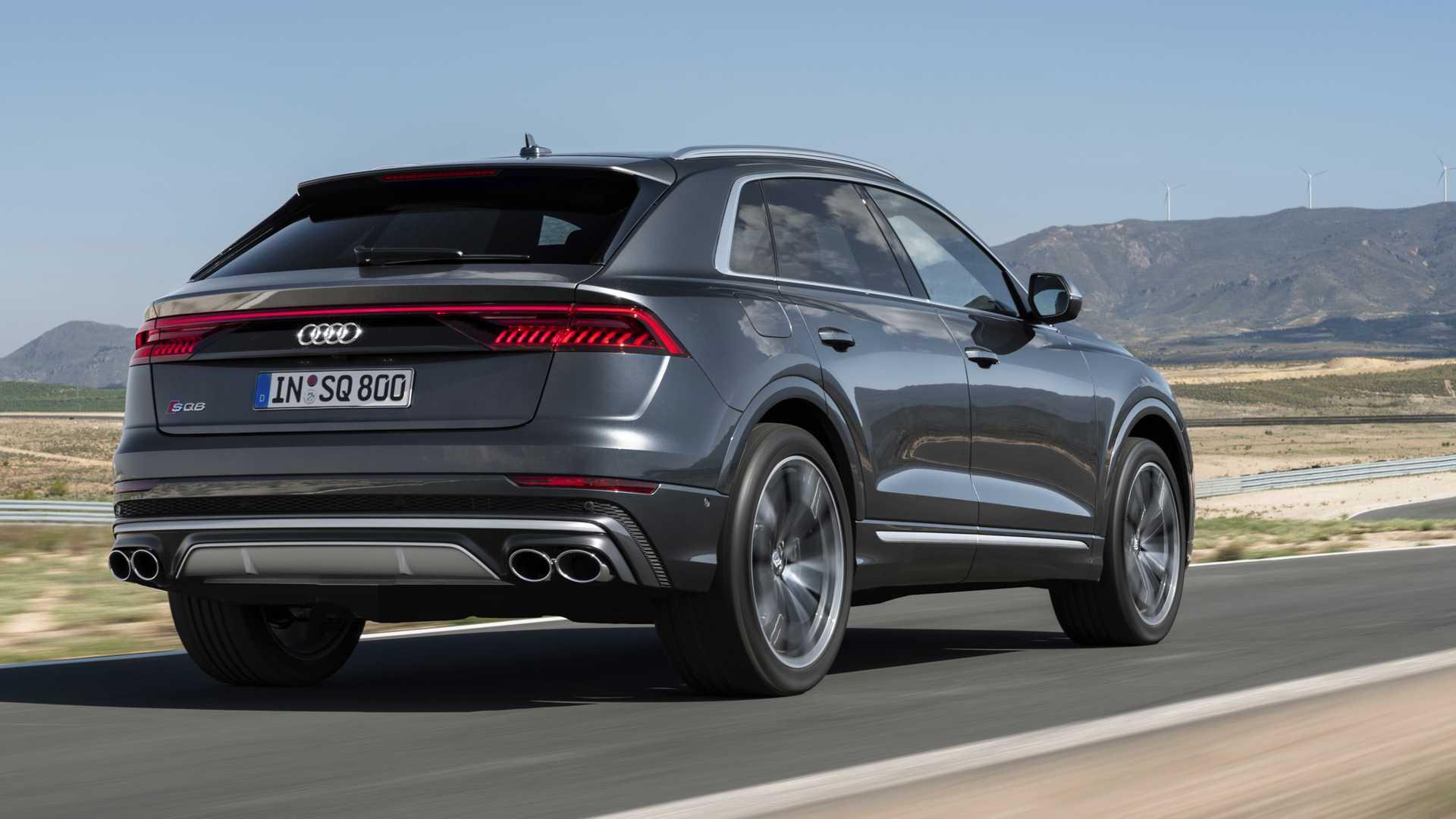 Самый мощный кроссовер Audi полностью рассекречен
