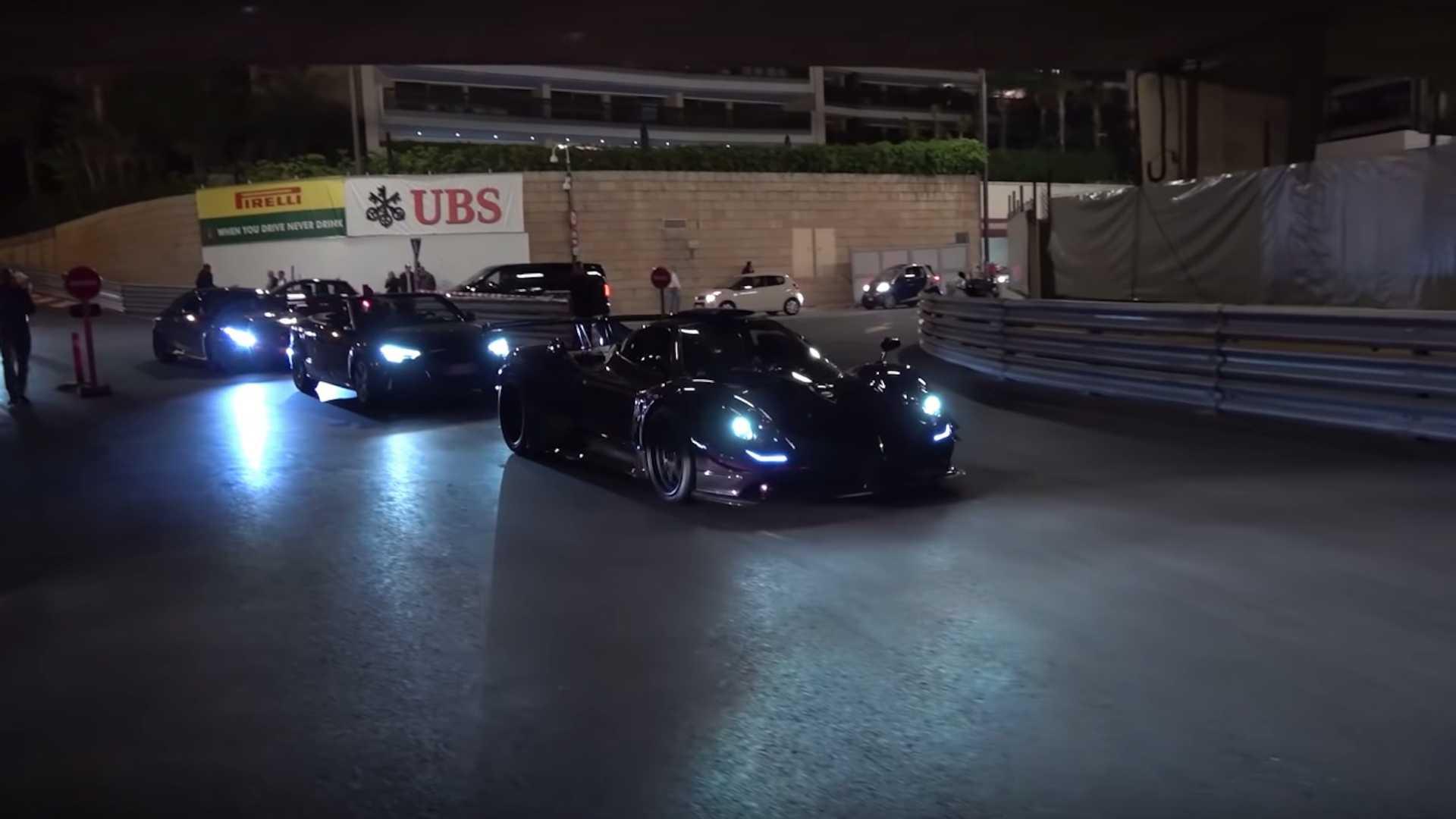 Чемпион Формулы-1 показал свой эксклюзивный суперкар Pagani (видео)