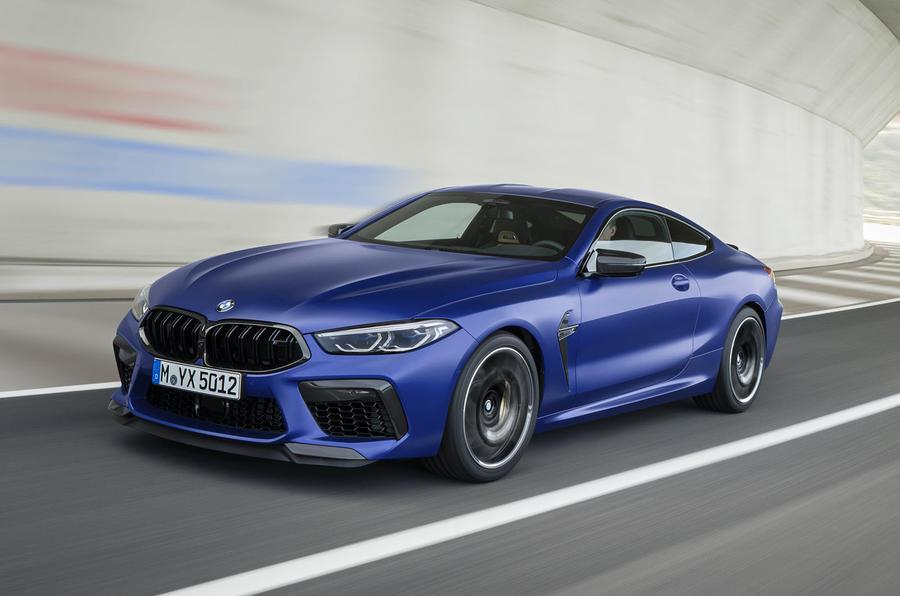 Новая BMW M8 2020 полностью рассекречена на официальных фото
