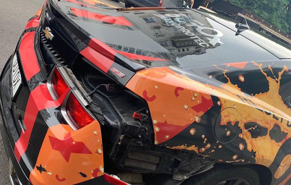 Звезда пробега суперкаров Outox Super Cars Run попал в ДТП