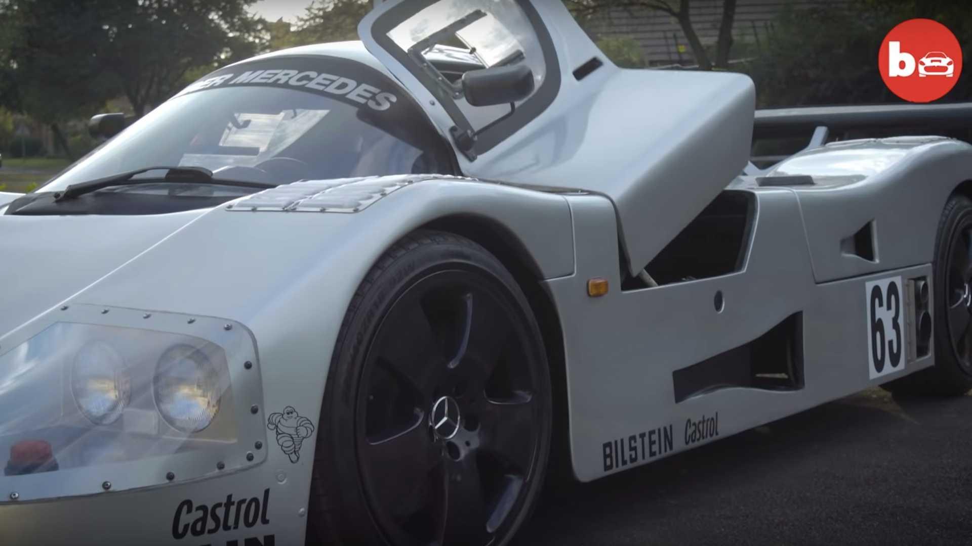 Механик своими руками воссоздал легендарный спорткар Mercedes