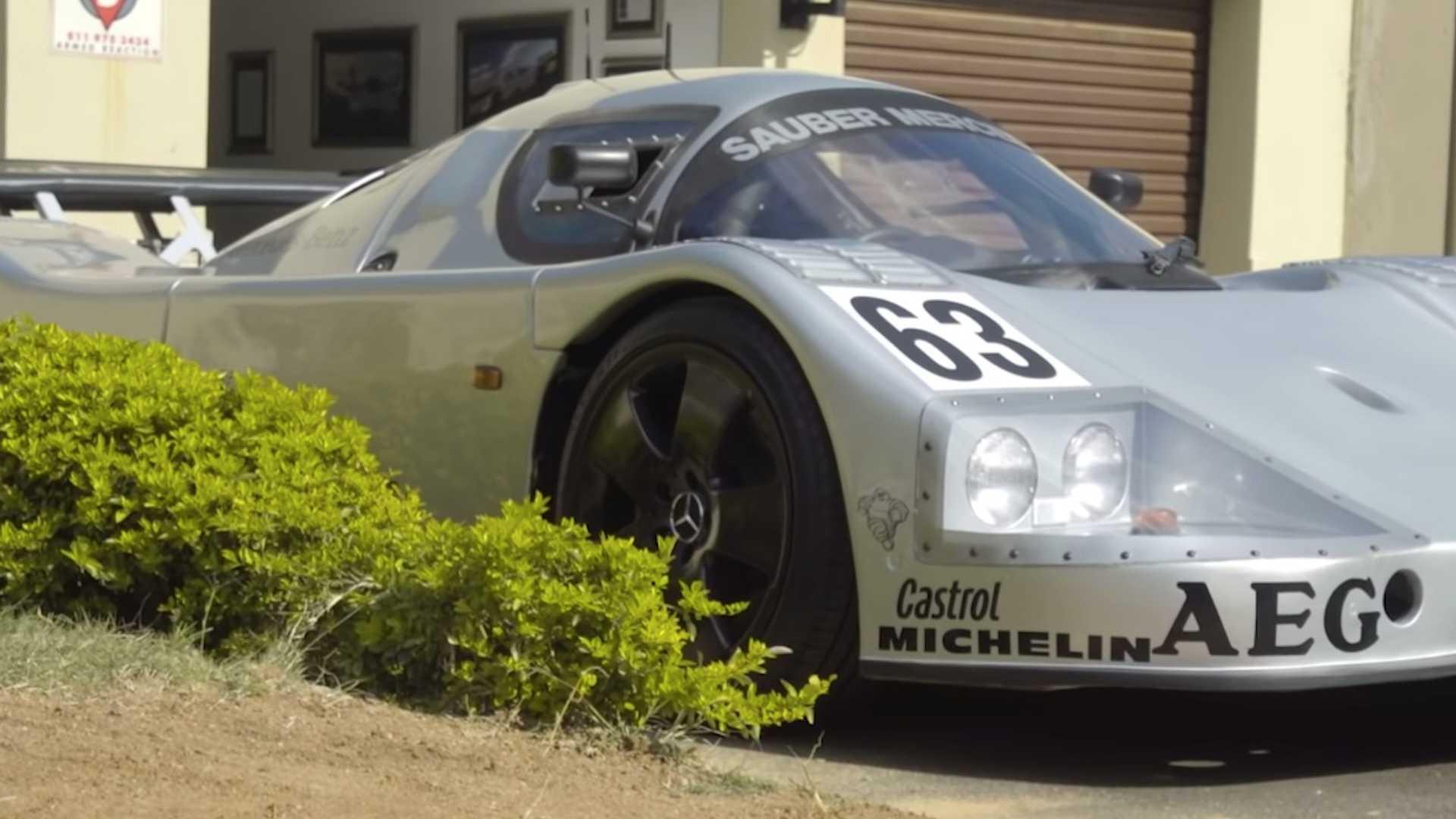 Механик своими руками воссоздал знаменитый гоночный Mercedes Шумахера