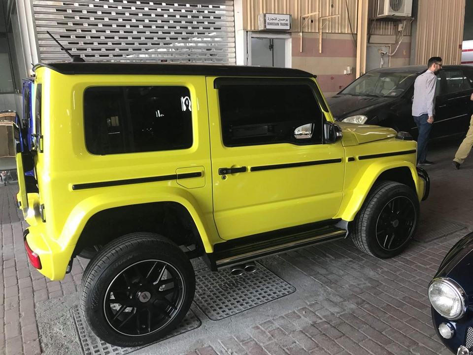 Новый Suzuki Jimny превратили в Гелендваген АМГ