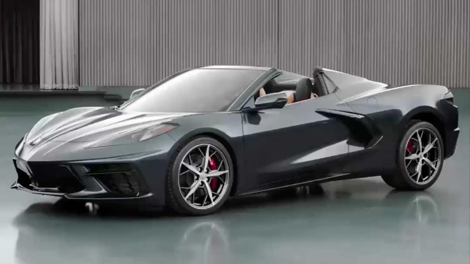 Новый кабриолет Chevrolet Corvette C8 рассекречен на официальном видео