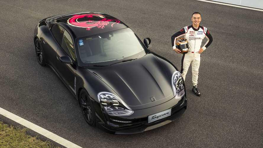 Первый электромобиль Porsche засняли во время тестов
